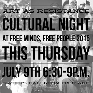 FMFP 2015 As as Resistance Cultural Night Flyer